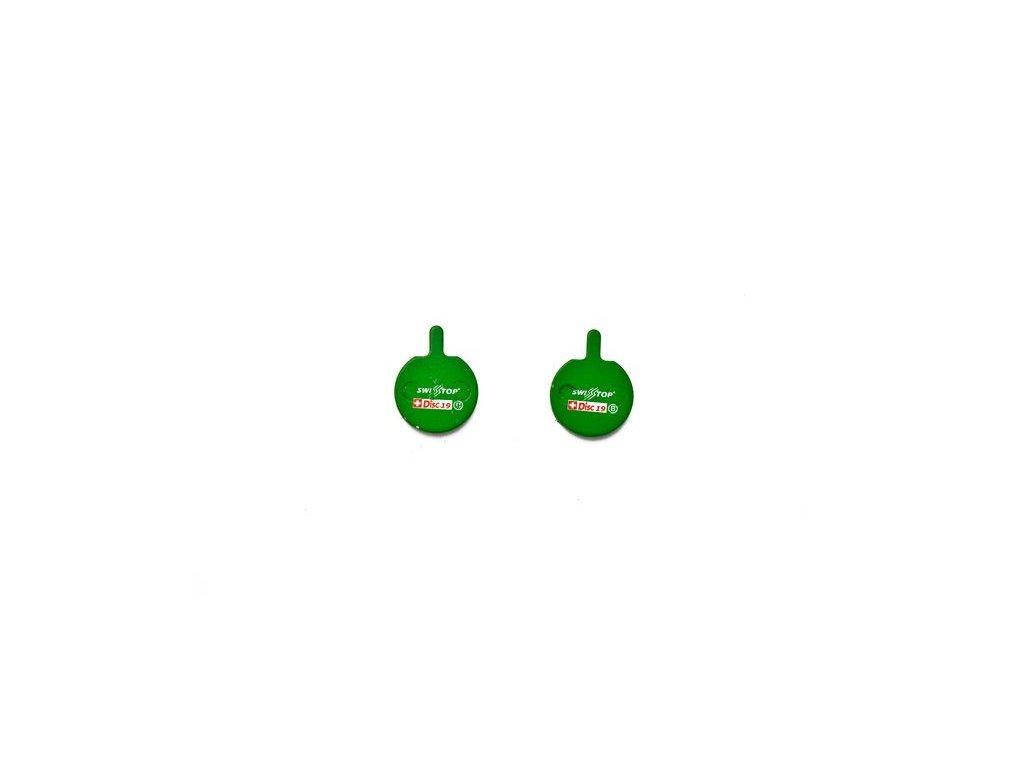 Brzdové destičky Swissstop organické pro Hayes Sole, Hayes MX3 Mechanical, QUAD QHD-4/5/SP