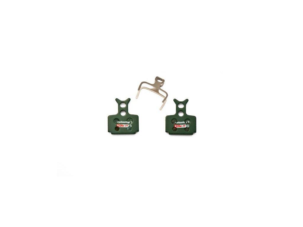 Brzdové destičky Swissstop sintrované pro Formula Mega/The One/R1/RX/RR1