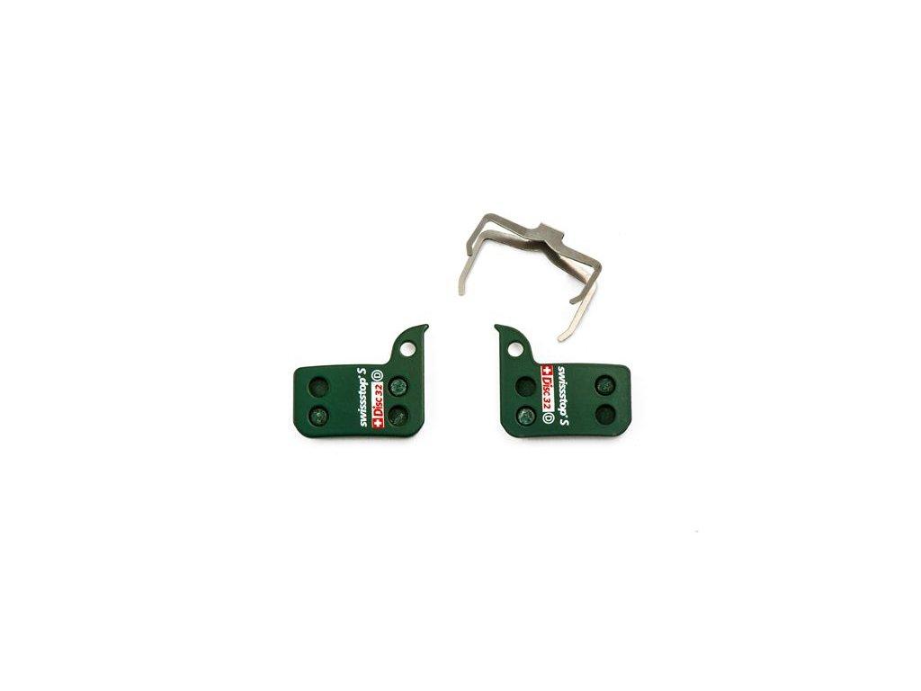 Brzdové destičky Swissstop sintrované pro SRAM HRD