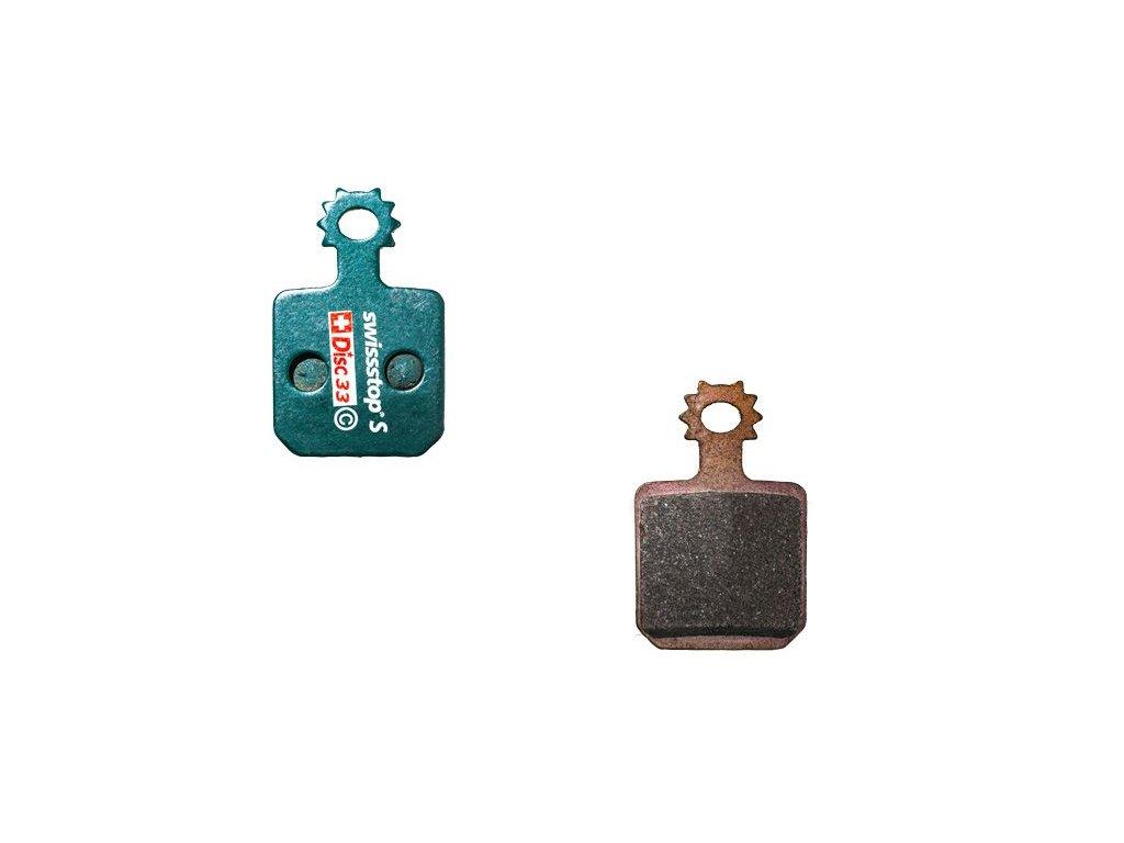 Brzdové destičky Swissstop sintrované pro Magura MT5, MT7 4 Pistons