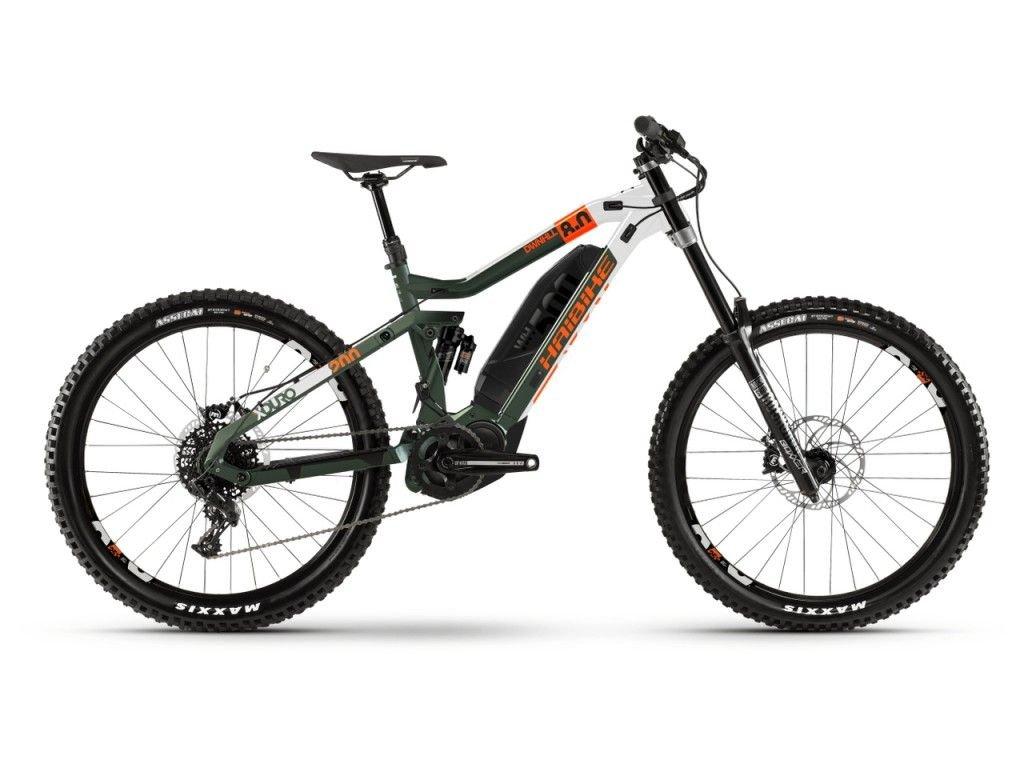 Elektrokolo Haibike XDURO Dwnhll 8.0 - Yamaha PW-X2, 250W  - 2020
