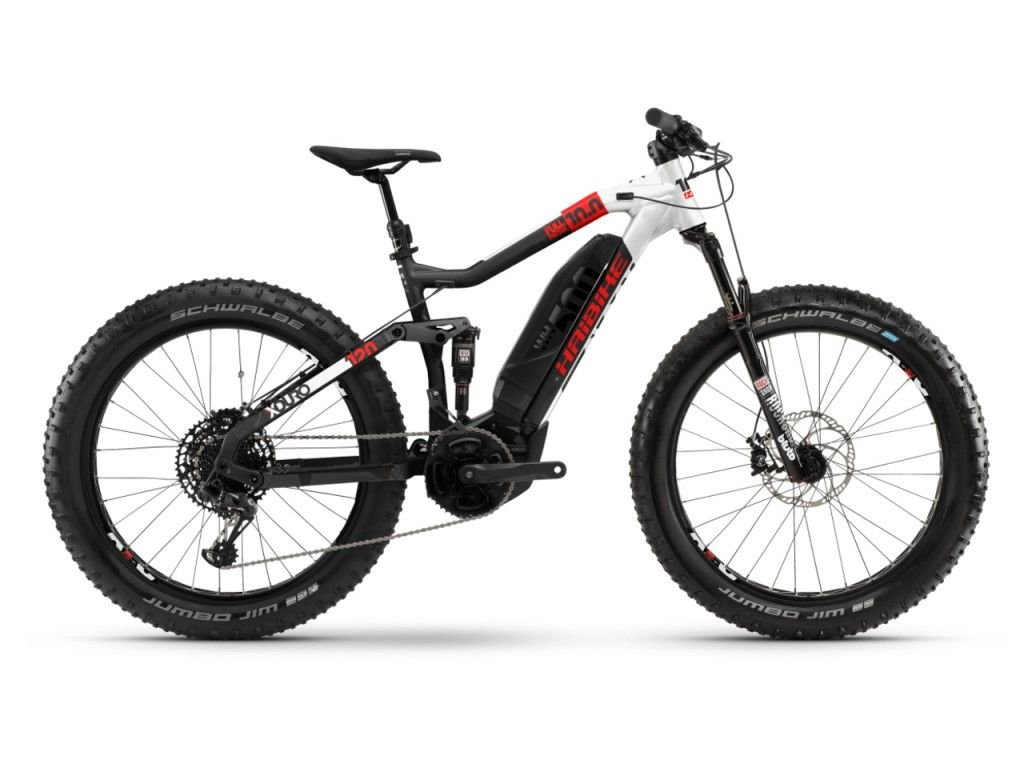 Horské Elektrokolo fatbike Haibike XDURO FullFatSix 10.0 - 2020 - Yamaha